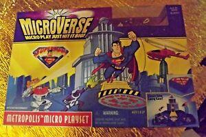 DC/Kenner Superman Microverse Metropolis Micro playset ( 1996 rare)