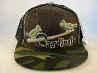 St Louis Cardinals MLB Vintage Trucker Snapback Hat Cap American Needle Camo