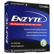 Enzyte Male Enhancement Erection Pills w/ Horny Goat Weed & Asian Ginseng - 30ct