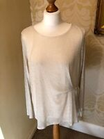 NEW Per Una  Metallic Gold Long Sleeve Sparkly Party Top 14 16 18 20 22