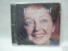 """EDITH PIAF CD ALBUM POLOGNE LA VIE EN ROSE + 15"