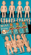 Dolls Set For Doll Movable Arms Manurba also for Heinerle Miracle Bags