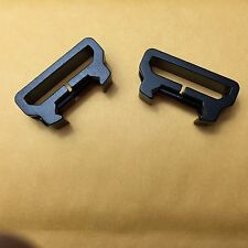 Tactical Sling Mount Adapter Attachment Weaver Picatinny Weaver Rail 2 PCS