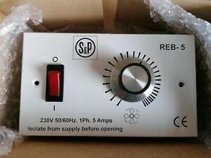 S&P Soler and Palau 5A REB - 5 Electronic Speed Controller