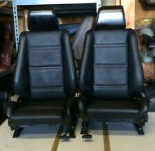 BMW e30 325/318 New Black Front Seats Pair For Convertibles (1982-91) $1500.00