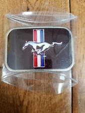 Ford Mustang Belt Buckle Galloping Pony Authentic Officially Licensed Muscle Car