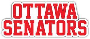 Ottawa Senators Slogan NHL Sport Car Bumper Sticker Decal  ''SIZES''