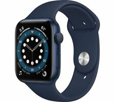 APPLE Watch Series 6 Blue Aluminium with Deep Navy Sports Band 40mm - Currys