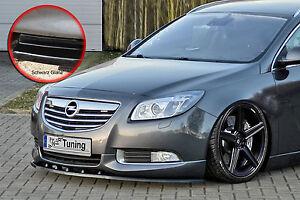 Spoilerschwert Frontspoiler ABS Opel Insignia OPC-Line mit ABE schwarz glänzend