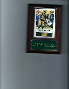 JORDY NELSON PLAQUE GREEN BAY PACKERS FOOTBALL NFL   C