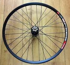 """29"""" DT Swiss 533d Disc Rim, Black Novatec D041SB Hub Front Wheel, 100mm QR"""