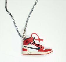 Collana Ciondolo Scarpa Nike Air Jordan 1 Sneakers Catenina Edizione Limitata