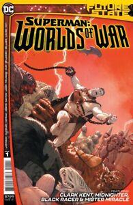 Future State Superman Worlds of War #1 (2021) DC CVR A pre-order 01/20/2021