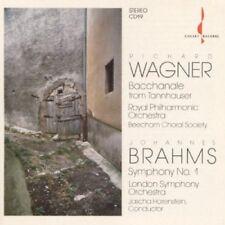 CD: Jascha Horenstein - Brahms: Symphony No. 1; Wagner: Bacchanale [Chesky]