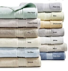 Hotel Collection Finest Elegance Luxury Turkish Cotton Hand Towel Aloe Green