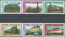 Timbres Trains Cambodge 1782G/M ** année 2000 lot 13410 - cote : 13 €