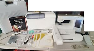 Baby Lock Esante BLN Computerized Sewing Embroidery Machine Accs. Case & Extras