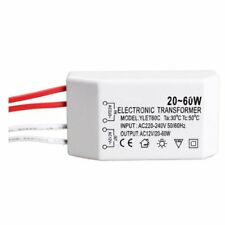 Electronic Transformer Entrance AC220-240V 50 / 60Hz 20-60W For LED Halogen L1D2