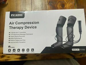 Fit King FT-011A Air Compression Therapy Device, Foot and Leg Massager.