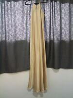Vintage Fitted Gold Gown