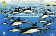 JERSEY 2000 WORLD ENVIRONMENT DAY DOLPHINS STAMP EXPO MINIATURE SHEET MNH
