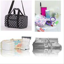 Luxury Polka dot pre-packed hospital/maternity bag mum & newborn baby shower