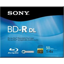Sony Blu-ray ReWritable Double Layer (BD-RE DL) 50GB Brand New