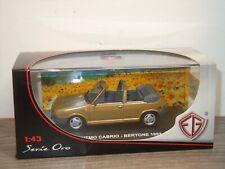 Fiat Ritmo Cabrio Bertone 1982 - EG Models Serie Oro 1:43 in Box *37187