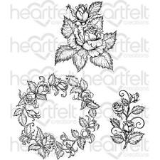 Heartfelt Creations Stamps ~ CLASSIC ROSE BOUQUET ~ HCPC3754
