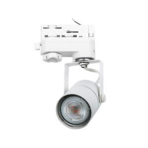 CLE UNI SPOT 790 Stromschienenstrahler weiss Philips LEDspot 4,6W(50W) 355lm 270