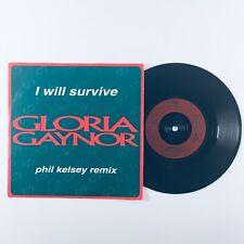 "Gloria Gaynor - I Will Survive Phil Kelsey Remix (1993) 7"" Single Vinyl Record"