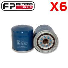 6 x WZ516 Wesfil Oil Filter-  Ford Falcon BF, FG - Z516, B329, F1AZ6731A, AFL101