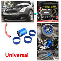 Car Super Double Turbonator Cold Air Intake Fuel Saver Turbo Charge Fan For Ford