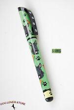 Scottish Terrier Dog Pen Replaceable Ballpoint Black Ink