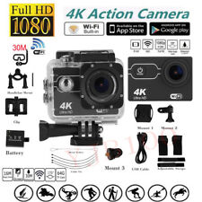 "2""LCD 16MP 4K WIFI Sports Action Camera Ultra HD Waterproof DV Camcorder TP"