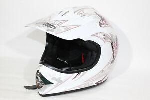 Leopard Child Kids Motocross MX Helmet Off Road QUAD Pitbike Large 53-54cm