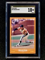 1988 Score #575 Nolan Ryan SGC 10 Gold Label Pristine Pop 1