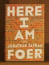 Jonathan Safran Foer, Here I Am, *Signed* 1st/1st  F/F Everything is Illuminated