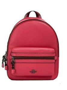 Coach NY Medium Vale Charlie Leather Backpack