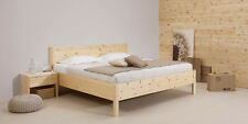 7289 Model Natura 180 x 200 cm Bett Naturholzbett Zirbenbett mit Komforthöhe