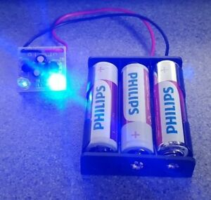 PCB Flasher Blue LED Battery Box Dummy Alarm Siren Security Bell Flash Circuit