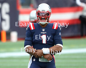 Cam Newton - New England Patriots 8X10 Photo