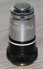 Zeiss Mikroskop Microscope Objektiv Plan 100/1,25 Oel
