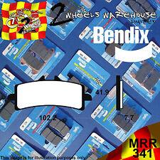 BENDIX 341-MRR ROAD RACING TRACK DAY FRONT BRAKE PADS APRILIA RSV4 R1000 2015
