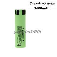 1x Original Authentic Panasonic NCR 18650 B 3400mAh Rechargeable Li-ion Battery