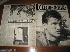 IL CALCIO E CICLISMO ILLUSTRATO 1963/13=SORMANI=TURCHIA ITALIA 0-1=