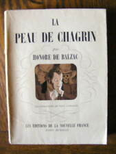 Balzac La Peau de Chagrin 1943 Illustrations de Paul Cappatti Ex. num. sur vélin