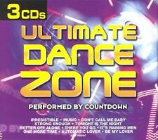 Ultimate Dance Zone [Box] by Countdown (CD, Sep-2002, 3 Discs, Madacy)