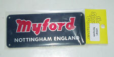 MYFORD NAMEPLATE FOR MACHINE STAND Direct From Myford ML7 / SUPER 7 LATHE