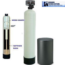 PREMIER  WELL WATER SOFTENER AND IRON REMOVER WATER SYSTEM KDF85 32000 grain